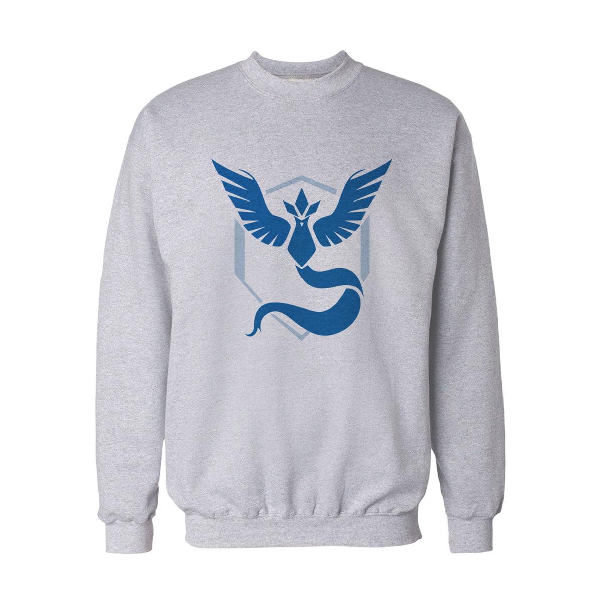 Pokemon Go Mavi Takim Mystic Sweatshirt B - Pokemon Go Team Mystic Unisex Sweatshirt - Figurex
