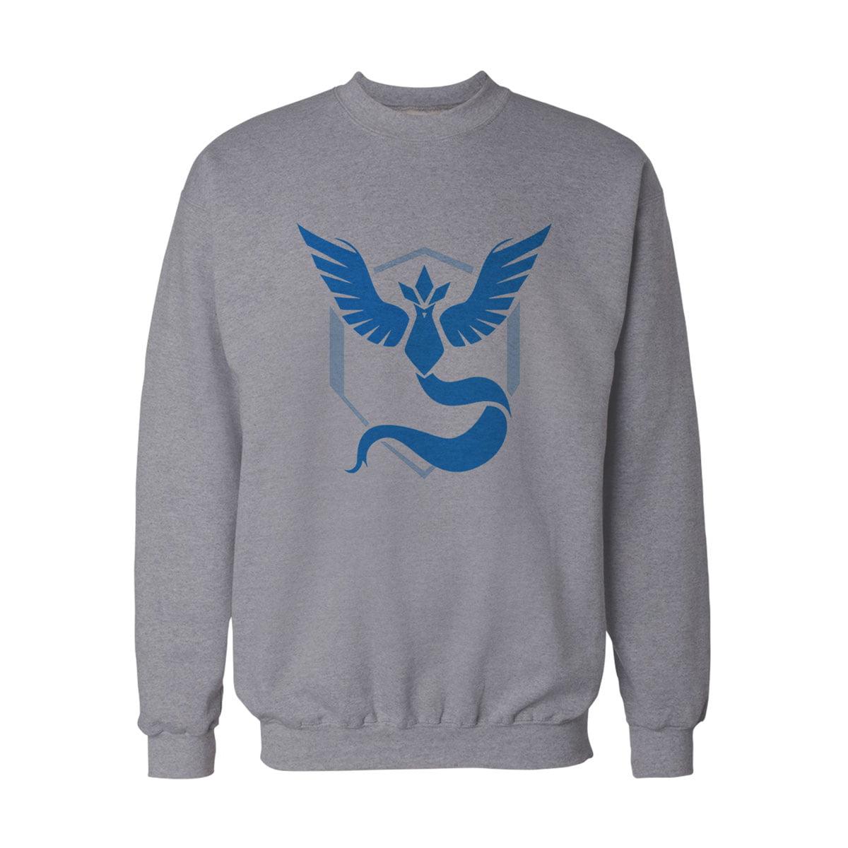 Pokemon Go Mavi Takim Mystic Sweatshirt G - Pokemon Go Team Mystic Unisex Sweatshirt - Figurex