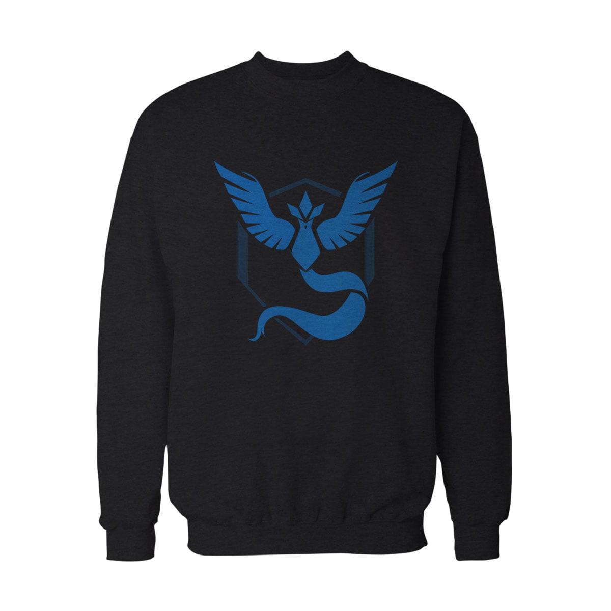 Pokemon Go Mavi Takim Mystic Sweatshirt S - Pokemon Go Team Mystic Unisex Sweatshirt - Figurex
