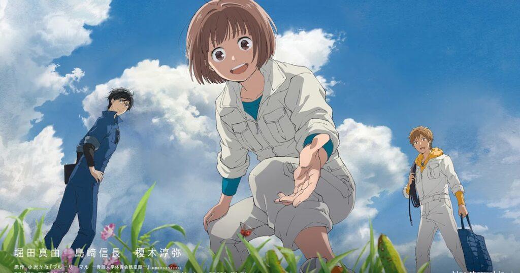 bluethermal teaservisual - Blue Thermal Glider Club Anime Filmi Oluyor! - Figurex Anime Haber